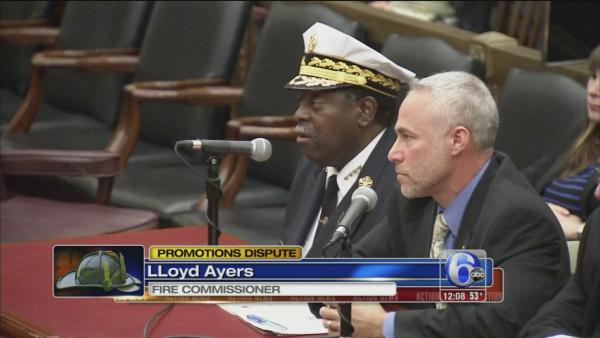 Fire Comm. testifies about firefighter demotions