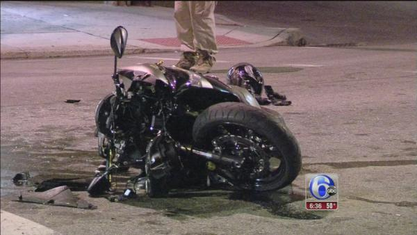 Motorcyclist killed after crashing into SUV in Norristown