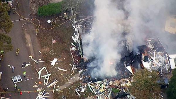 House explosion in Lower Township