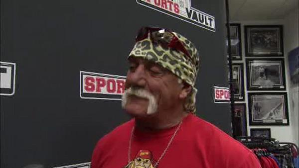 Hulk Hogan speaks on wrestling, Philly fans