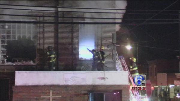 Electric wiring sparked W. Phila. church fire