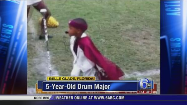 5-year-old drum major in Florida