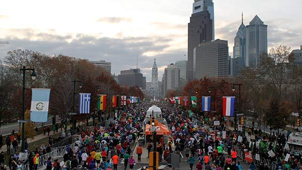 Gearing up for the Phila. Marathon
