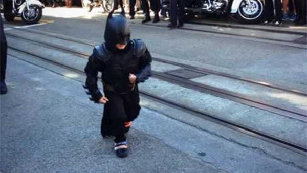 'Batkid' and family paying it forward