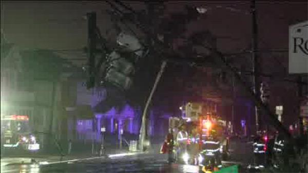 Driver loses control, crashes into utility pole in Trenton