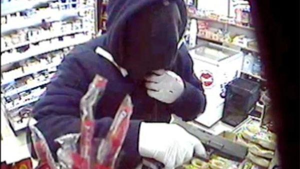 On Video: Gunman sought in Philadelphia robbery spree