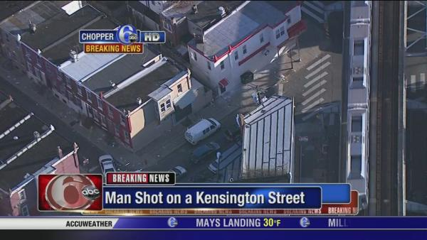 Man shot, wounded in Kensington