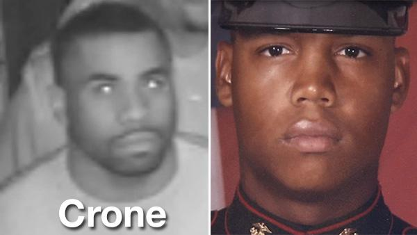 Search for Marine's murder suspect