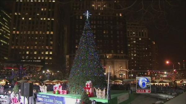 20th annual Phila. holiday tree lighting