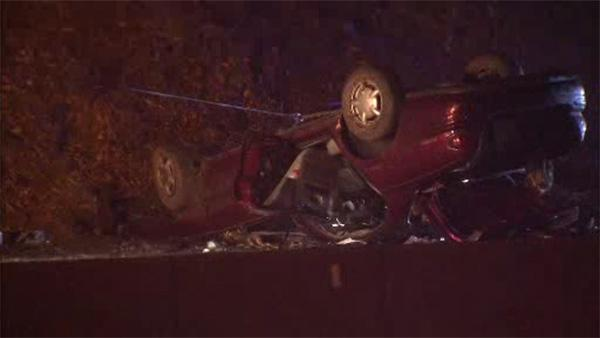 2 women hospitalized after Schuylkill Expressway crash