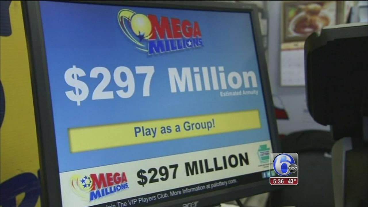 Mega Million jackpot reaches $297 Million