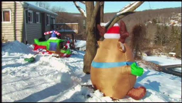 Stolen Xmas decorations returned in Berks Co.