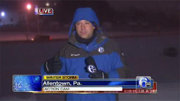 Chad Pradelli reports in Allentown, Pa.