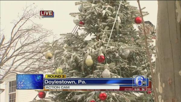 David Henry reports on ice from Doylestown