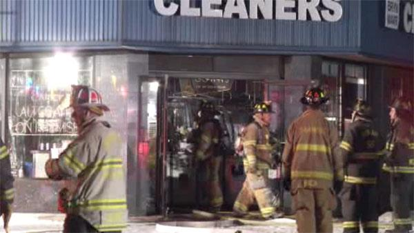 Fire damages 2 businesses in Haverford