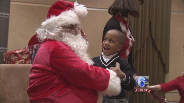 Red Cross brings cheer at holiday party