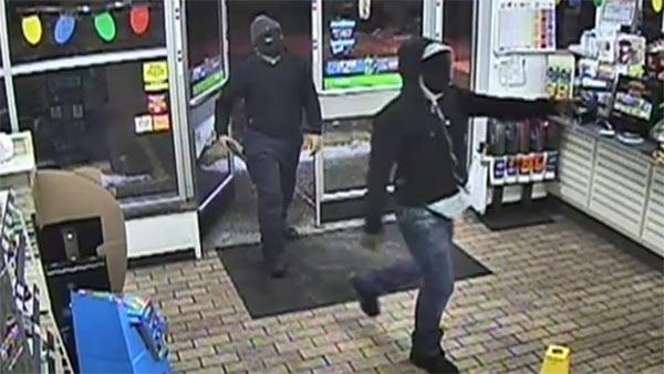 Dramatic video released of violent 7-Eleven robbery