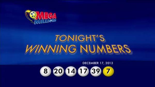 $636 million Mega Millions jackpot numbers drawn