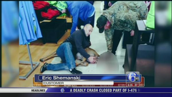 Deer tackled in Pa. sporting goods store
