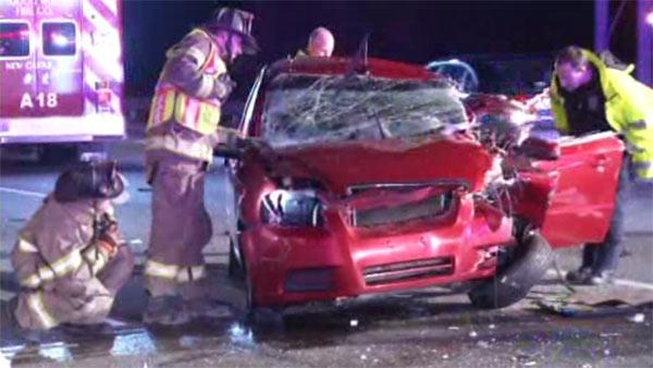 Driver ejected in I-95 crash in Delaware