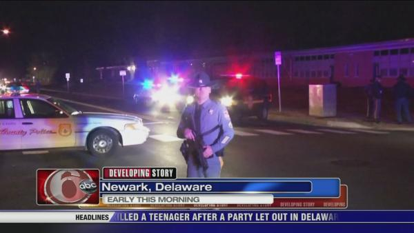 Teen shot and killed in Newark, Del.
