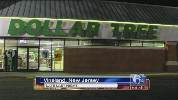 Dollar store robbed in Vineland, NJ