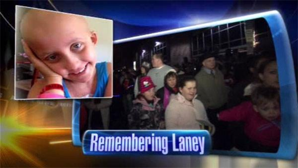 Public viewing held for Delaney 'Laney' Brown