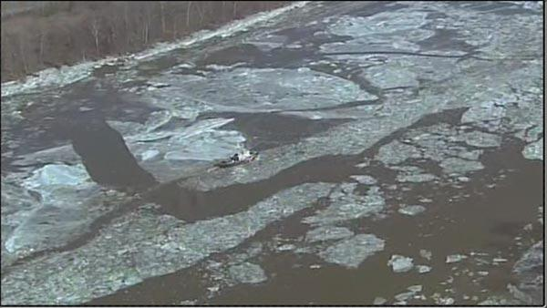Ice on the Delaware River