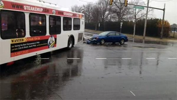 Ice to blame for SEPTA bus crash