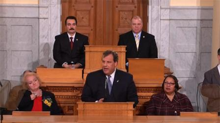Gov. Chris Christie delivers State of the State address