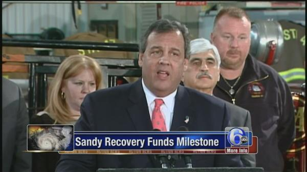 Christie meets with Superstorm Sandy victims