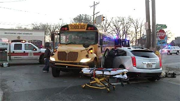 School bus, SUV collide in Delaware