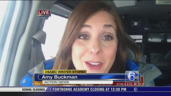 Amy Buckman on road conditions in Montco