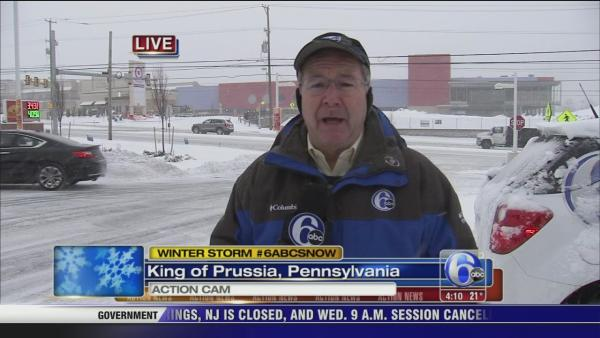 John Rawlins reports from King of Prussia, Pa.