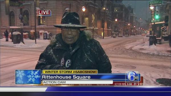 Vernon Odom reports from Rittenhouse Square