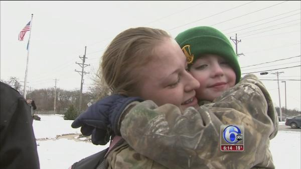 Delaware National Guard returns home