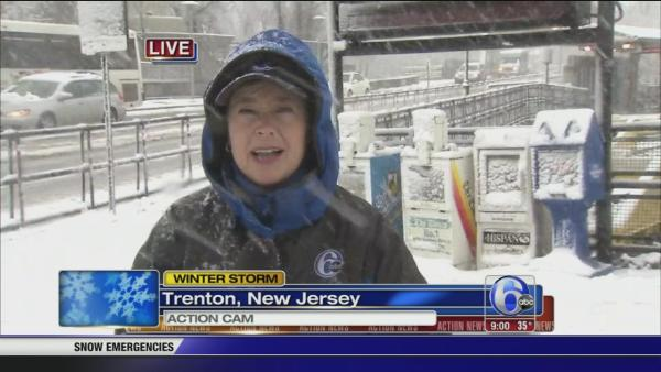 Nora Muchanic: Snow in Trenton