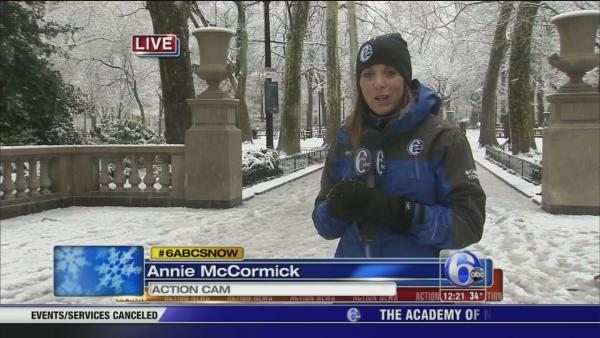 Annie McCormick: Picturesque scene on Rittenhouse Sq.