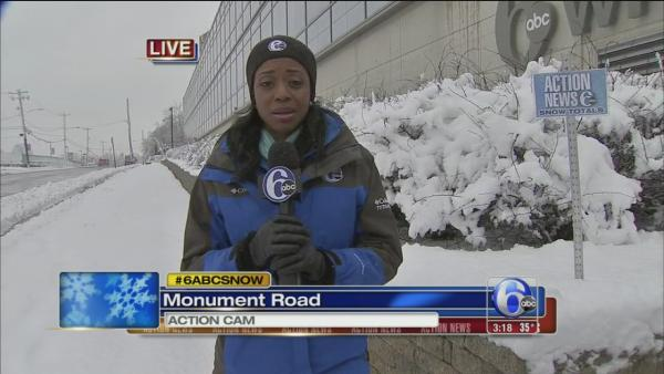 Melissa Magee reports from outside 6abc