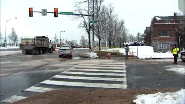 Lanes reopen after Blvd. water main break