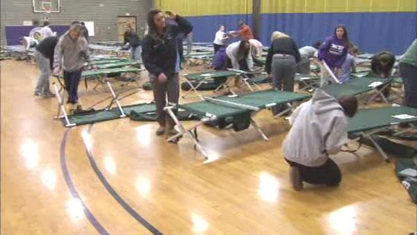 Red Cross opens warming shelters in 4 counties
