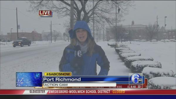 Katherine Scott: Snow in Port Richmond