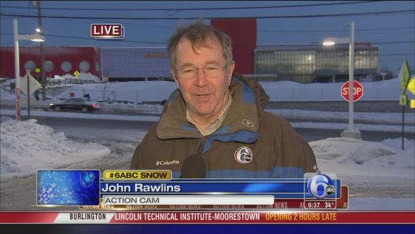 John Rawlins: Snow in King of Prussia