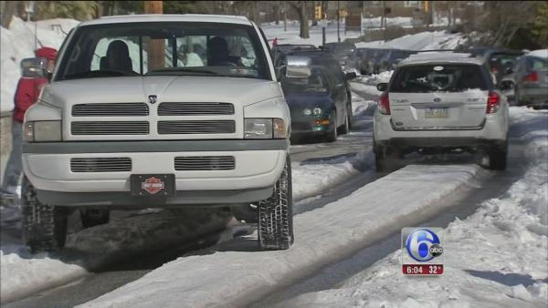 Salt shortage causes issues clearing roads
