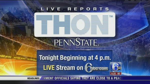Starting @ 4pm - LIVE coverage of THON 2014