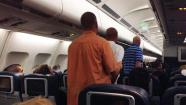 Unruly passenger forces flight back to PHL