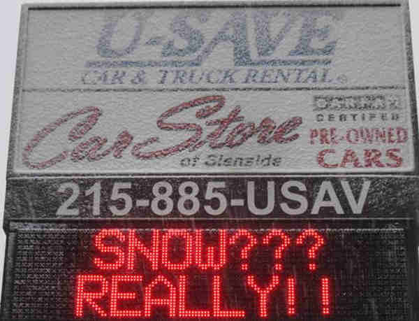 An Action News viewer sent in this photo of a business sign in Glenside, Pa.