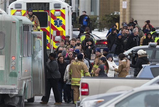 "<div class=""meta image-caption""><div class=""origin-logo origin-image ""><span></span></div><span class=""caption-text"">Pictured: The scene after a shooting at a mall in Columbia, Maryland on Saturday, Jan. 25, 2014.  (AP Photo/ Evan Vucci)</span></div>"