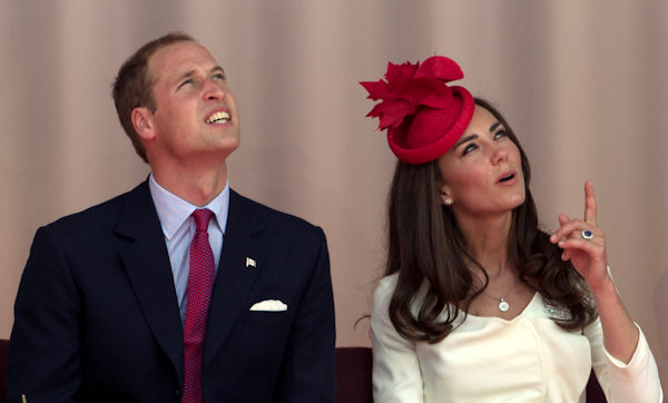 "<div class=""meta ""><span class=""caption-text "">Prince William and Kate, the Duke and Duchess of Cambridge during a Canada Day celebration on Parliament Hill in Ottawa, Canada, Friday, July 1, 2011. (AP Photo/Charlie Riedel)</span></div>"