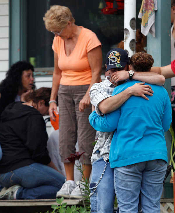 "<div class=""meta image-caption""><div class=""origin-logo origin-image ""><span></span></div><span class=""caption-text"">Family and friends of Celina Cass wait on the porch of the family home in Stewartstown, N.H., Wednesday, July 27, 2011. Cass, 11, has been reported missing since she was last seen at her home on Monday evening a few miles from the area they were searching.(AP Photo/Charles Krupa)</span></div>"